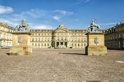 Stuttgart Castle. In the city center Stock Photography