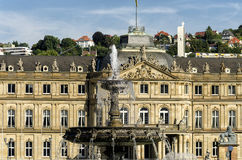Stuttgart Castle Royalty Free Stock Photos