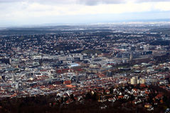 Stuttgart City. Stuttgart is the capital of Baden-Wuerttemberg, South-Germany Royalty Free Stock Photography