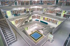 Stuttgart, City Library Royalty Free Stock Photography
