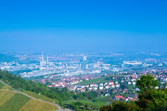 Stuttgart. City with stadium and vineyard Stock Photo