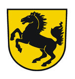 Stuttgart coat of arms Royalty Free Stock Photo