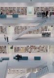 Stuttgart - Contemporary public library Stock Image