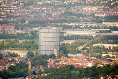 Stuttgart in Deutschland Lizenzfreies Stockbild