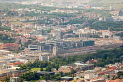Stuttgart in Deutschland Stockbild