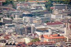 Stuttgart in Duitsland Stock Foto
