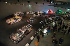 STUTTGART, DUITSLAND - DECEMBER 30, 2018: Binnenland van museum royalty-vrije stock foto