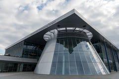 Stuttgart, Duitsland - Februari 03, 2018, Mercedes Benz Muse stock afbeeldingen