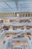Stuttgart, Duitsland - Mei 21, 2015: De Openbare Bibliotheek van Stuttgart, Royalty-vrije Stock Afbeelding