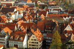 Stuttgart-Esslingen stadscentrum Royalty-vrije Stock Afbeelding