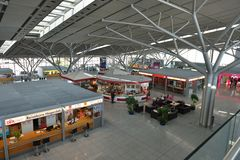 Stuttgart-Flughafen Lizenzfreie Stockfotografie