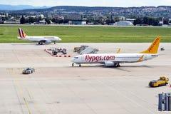 Stuttgart flygplats Fotografering för Bildbyråer
