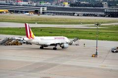 Stuttgart flygplats Royaltyfri Fotografi