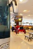 STUTTGART, GERMANIA 31 MAGGIO 2012: automobile d'annata all'esposizione del museo di Mercedes fotografia stock libera da diritti