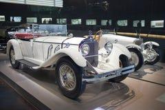 STUTTGART, GERMANIA 31 MAGGIO 2012: automobile d'annata all'esposizione del museo di Mercedes fotografie stock