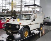 STUTTGART, GERMANIA 31 MAGGIO 2012: automobile d'annata all'esposizione del museo di Mercedes immagini stock