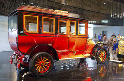 STUTTGART, GERMANIA 31 MAGGIO 2012: automobile d'annata all'esposizione del museo di Mercedes immagini stock libere da diritti