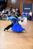 Stuttgart, Germany - Adance couple in a dance pose during Grand Slam Standart Stock Photo