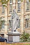 Stuttgart Germany - Schiller monument Stock Photos