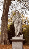 Stuttgart Germany - Schiller statue Stock Photography