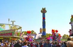 Free Stuttgart, Germany-September 30, 2018: Beer Festival, Fairground And Rides Royalty Free Stock Photo - 160303585