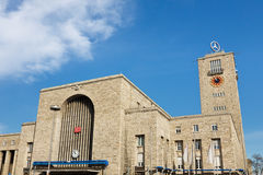Stuttgart Hauptbahnhof (Central Station) Royalty Free Stock Images