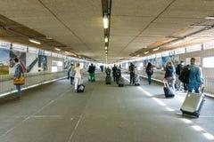 Stuttgart Hauptbahnhof Indoors Underpass Under Construction Long Stock Photo
