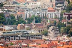 Stuttgart i Tyskland Arkivfoto