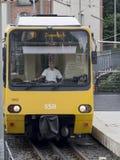 Stuttgart kuggejärnväg Fotografering för Bildbyråer
