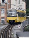 Stuttgart kuggejärnväg Royaltyfri Fotografi