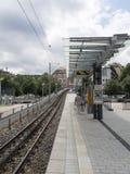 Stuttgart kuggejärnvägsstation Arkivbild