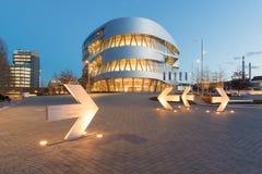 Stuttgart, Mercedes-Benz Museum Stock Photos