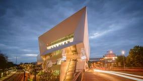 Stuttgart, museo di Porsche Immagini Stock Libere da Diritti