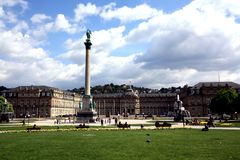 Stuttgart New Palace Stock Photos