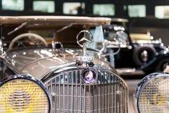 Stuttgart Niemcy, Luty, - 03, 2018 Mercedez Benz muza Zdjęcia Royalty Free