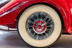 Stuttgart Niemcy, Luty, - 03, 2018 Mercedez Benz muza Fotografia Royalty Free