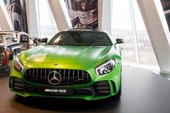 Stuttgart Niemcy, Luty, - 03, 2018 Mercedez Benz muza Obrazy Royalty Free