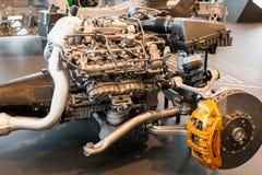 Stuttgart Niemcy, Luty, - 03, 2018 Mercedez Benz muza Zdjęcie Stock