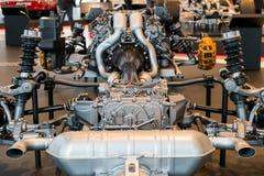 Stuttgart Niemcy, Luty, - 03, 2018 Mercedez Benz muza Fotografia Stock