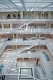 Stuttgart Niemcy, Maj, - 21, 2015: Stuttgart biblioteka publiczna, Obrazy Stock