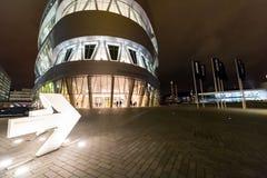 Stuttgart Niemcy, Styczeń, - 07, 2018 Mercedez Benz Museu Obraz Stock