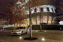 Stuttgart Niemcy, Styczeń, - 07, 2018 Mercedez Benz Museu Fotografia Royalty Free