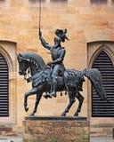 Stuttgart - Old Castle, Duke Eberhard statue Stock Images