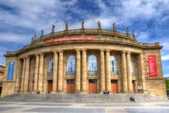 Stuttgart operahus Arkivbilder
