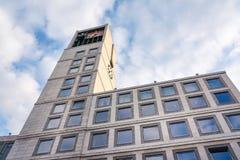 Stuttgart Rathaus rada miasta budynku Zewnętrzna architektura Ma Obrazy Stock