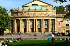 Stuttgart's Opera stock photos