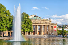 Stuttgart State Theatre building, Germany Royalty Free Stock Photography