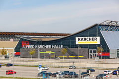 Stuttgart trade fair Messe Alfred Karcher Halle Stock Images