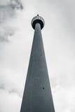 Stuttgart TV Tower Fernsehturm Monochrome View Germany Building Stock Image
