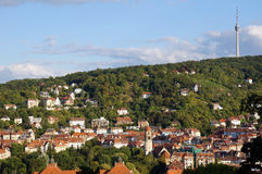 Stuttgart TV wierza Zdjęcia Royalty Free